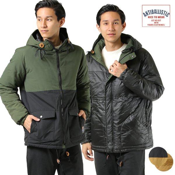 ANTIBALLISTIC アンティバルリスティック メンズ ジャケット 194AN1JK009 リバーシブル マウンテンパーカー ダウン GG3 K12