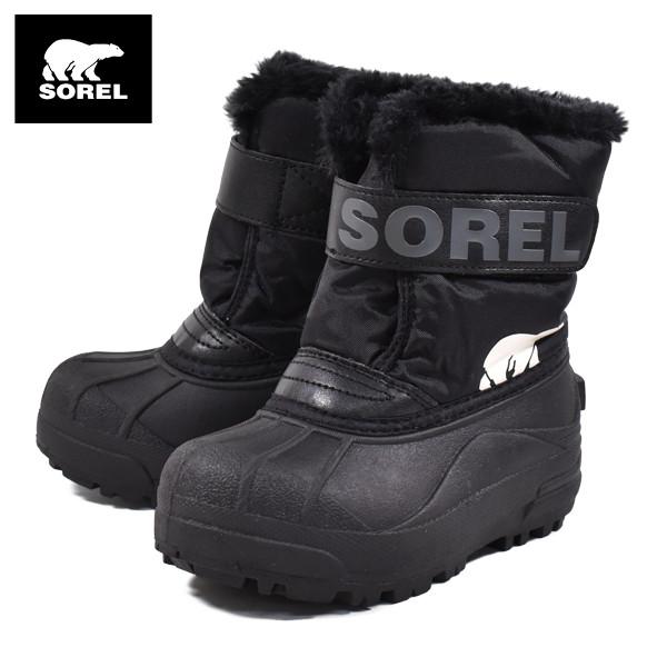 キッズ ブーツ SOREL ソレル NC1960-010 CHILDRENS SNOW COMMANDER GG3 K23 MM