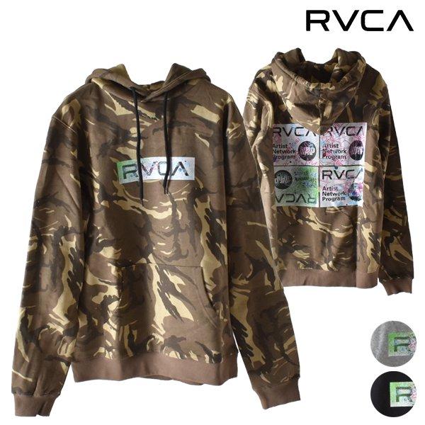 RVCA ルーカ メンズ パーカー AJ042-019 トップス プルオーバー 裏起毛 GG4 L5