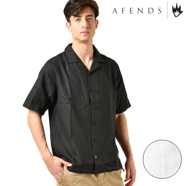 AFENDS アフェンズ Hollywood ハリウッド M201201 メンズ 半袖 シャツ HH1 B24