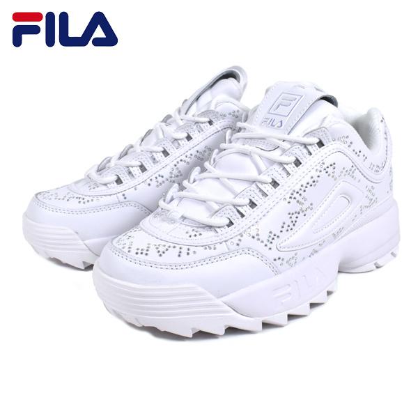 FILA フィラ DISRUPTOR 2 DIAMANTE ディスラプター2 ディアマンテ F0531-0101 レディース シューズ HH1 C7 MM