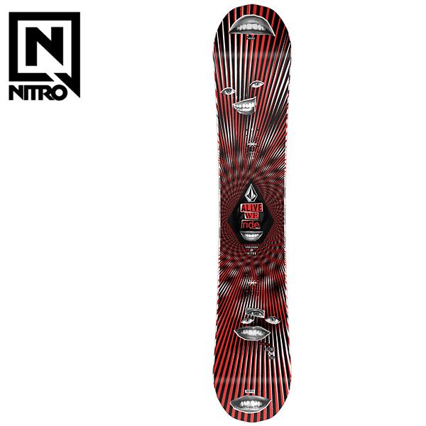 予約販売 11月中旬入荷予定 スノーボード 板 NITRO ナイトロ X VOLCOM ボルコム BEAST ビースト 20-21モデル メンズ HX F9