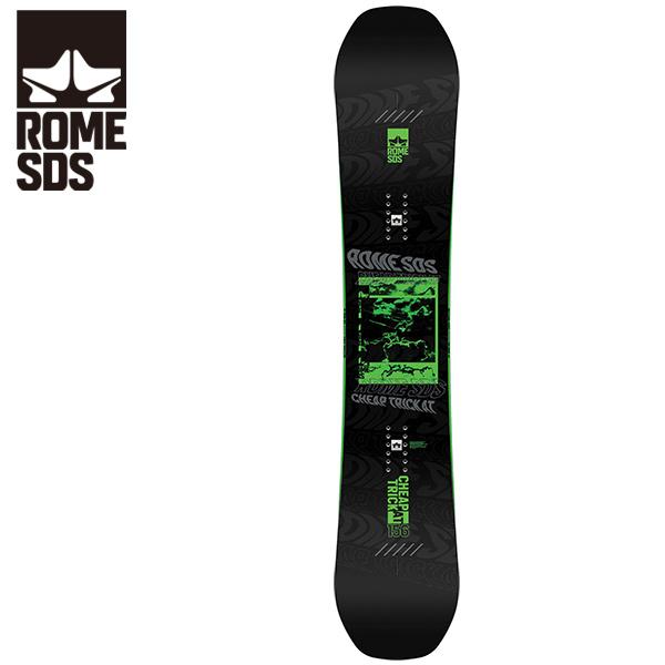 予約販売 11月中旬入荷予定 スノーボード 板 ROME SDS ローム CHEAP TRICK AT チープトリック 20-21モデル メンズ HH F23