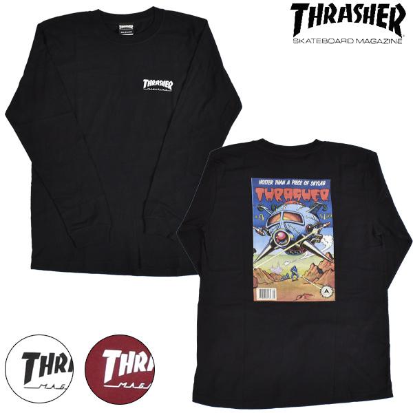 THRASHER スラッシャー COMIC #8 L/S TEE TH93258 COMIC8 メンズ 長袖 Tシャツ ムラサキスポーツ限定 HH3 H27 MM:ムラサキスポーツ店