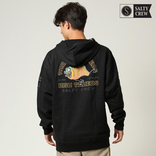 SALTY CREW ソルティークルー Chompin Hooded Fleece 70-255 メンズ パーカー プルオーバー 裏起毛 HH3 I15