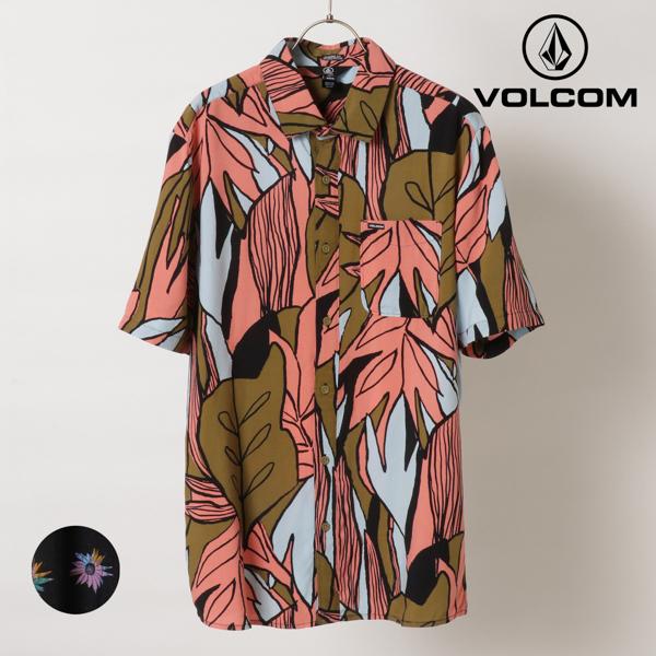 オーバーサイズ ストリート 売買 スケートボード 花柄 プリント VOLCOM ボルコム 半袖 A0412104 C17 メンズ 無料 II1 シャツ 半袖シャツ