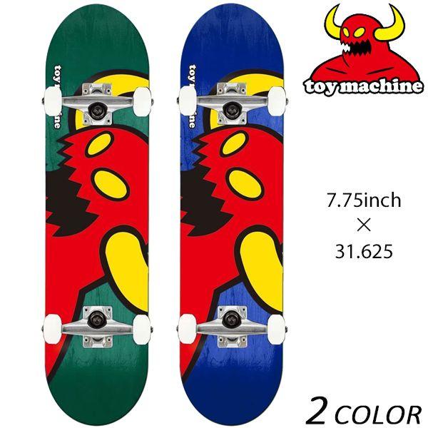 送料無料 スケートボード コンプリート セット TOY MACHINE トイマシーン VICE MONSTER C15129 FF D5