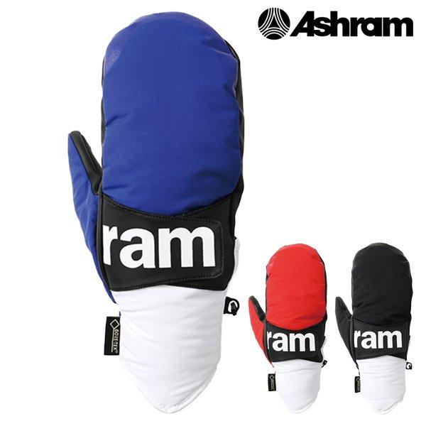 送料無料 スノーボード グローブ ASHRAM アシュラム PHOEBE フィービー ASRM18W09 18-19モデル メンズ GORE-TEX FX L12