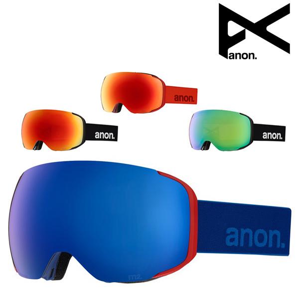 送料無料 スノーボード ゴーグル ANON アノン M2 Goggle + Spare Lens ASIAFIT アジアンフィット 18-19モデル メンズ FF K9 MM