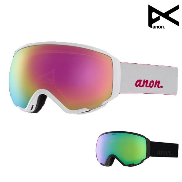 送料無料 スノーボード ゴーグル ANON アノン WM1 Goggle + Spare Lens ASIAFIT アジアンフィット 18-19モデル レディース FF K9 MM