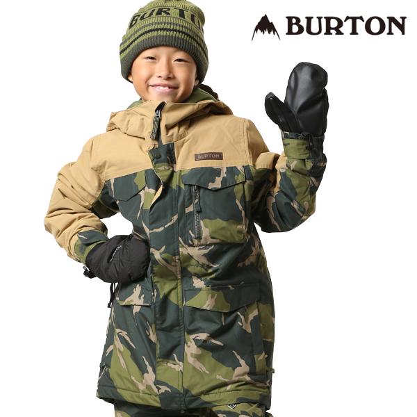 送料無料 スノーボード ウェア ジャケット BURTON バートン BOYS COVERT JK 18-19モデル キッズ ジュニア FF K23
