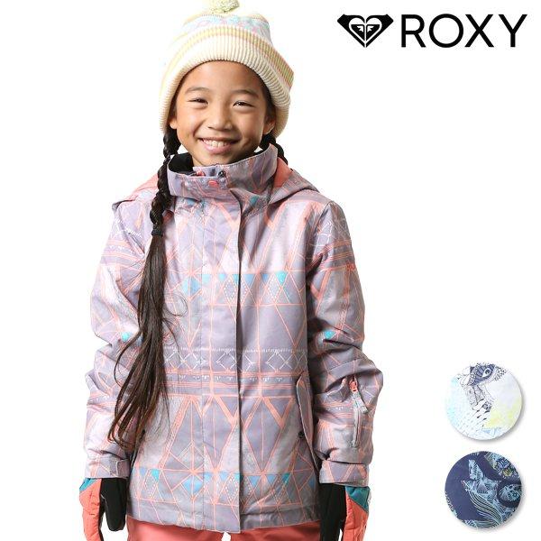 送料無料 スノーボード ウェア ジャケット ROXY ロキシー ERGTJ03058 ROXY JETTY GIRL JK 130cm~150cm 18-19モデル キッズ ジュニア FX K21