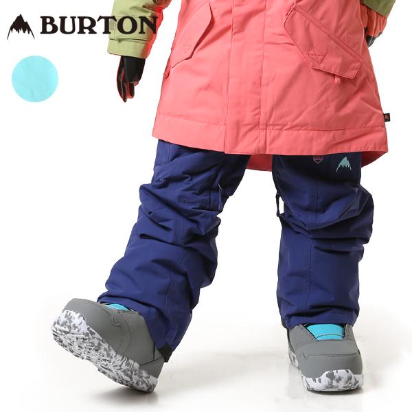 送料無料 スノーボード ウェア パンツ BURTON バートン GIRL ELITE CARG PT 18-19モデル キッズ ジュニア FF K26