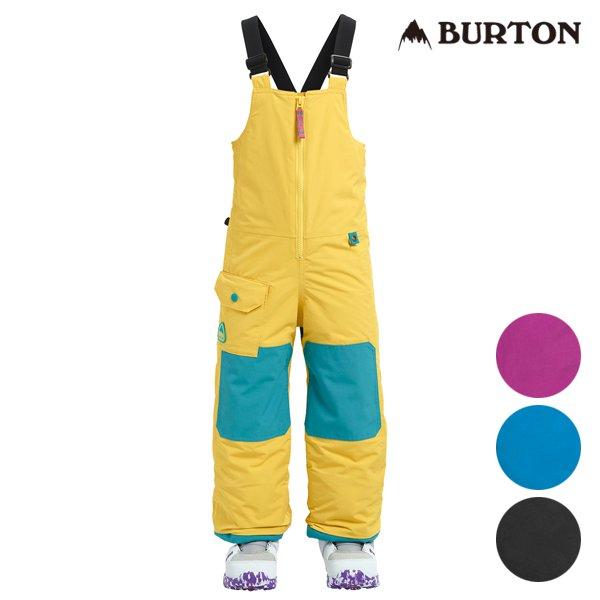 送料無料 スノーボード ウェア パンツ BURTON バートン MS MAVEN BIB 18-19モデル キッズ 100cm~110cm FF L3