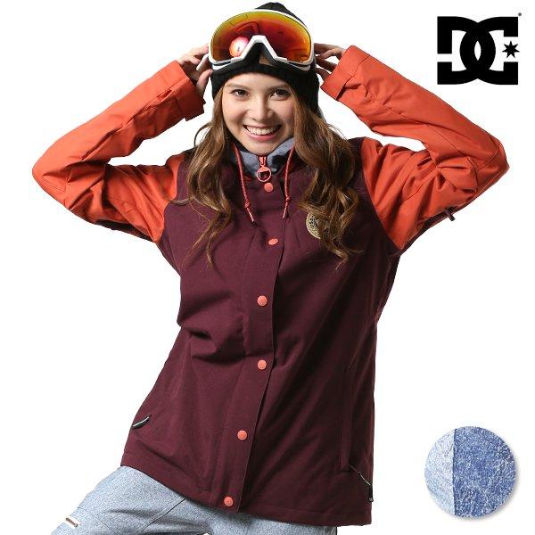 送料無料 スノーボード ウェア ジャケット DC ディーシー DCLA WOMEN JKT EDJTJ03034 18-19モデル レディース FX I26