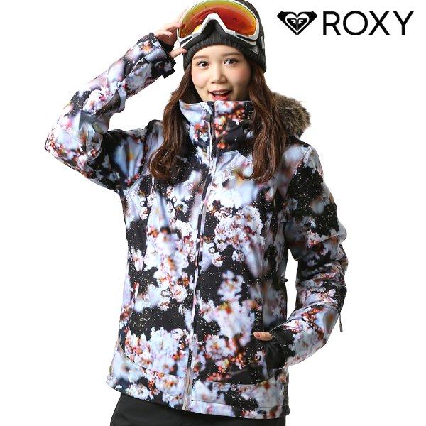 送料無料 スノーボード ウェア ジャケット ROXY ロキシー ERJTJ03186 M / mika ninagawa コラボレーションモデル 18-19モデル レディース FX J19