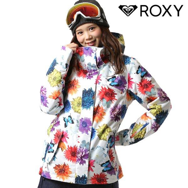 送料無料 スノーボード ウェア ジャケット ROXY ロキシー ERJTJ03187 M / mika ninagawa コラボレーションモデル 18-19モデル レディース FX J19