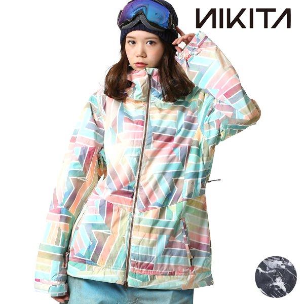 送料無料 スノーボード ウェア ジャケット NIKITA ニキータ NGWJMAG W MAGNOLIA JKT 17-18モデル レディース F1 L19