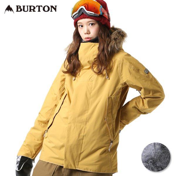 送料無料 スノーボード ウェア ジャケット BURTON バートン WZ ZINNIA JK 17195102 18-19モデル レディース FF J20