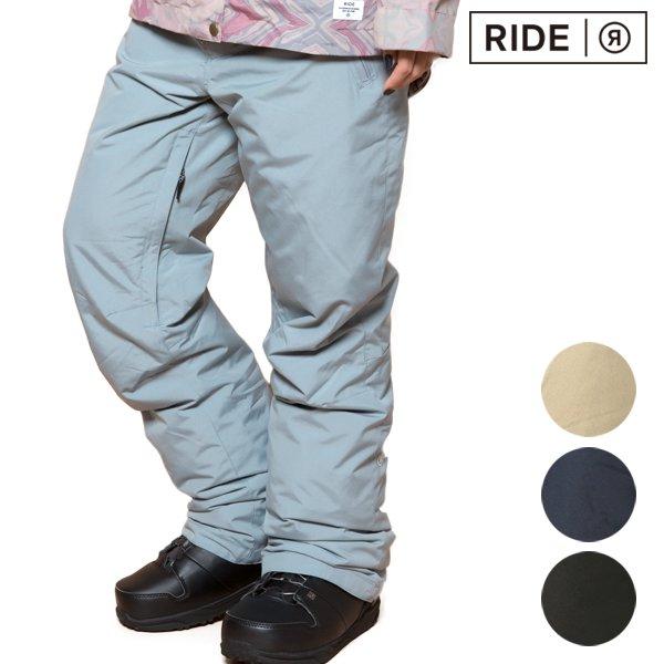 送料無料 スノーボード ウェア パンツ RIDE ライド DISCOVER PANT 18-19モデル レディース FF K21