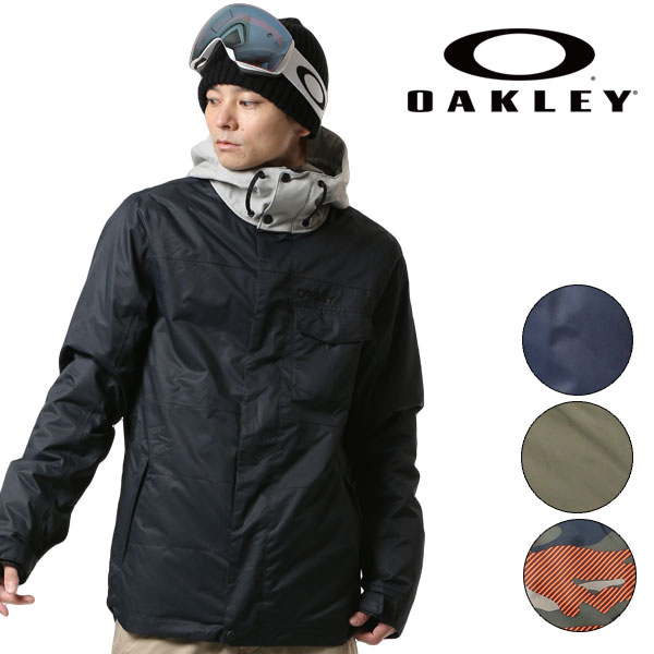 送料無料 スノーボード ウェア ジャケット OAKLEY オークリー DIVISION 10K BZI JACKET 412238 17-18モデル メンズ F1 I27