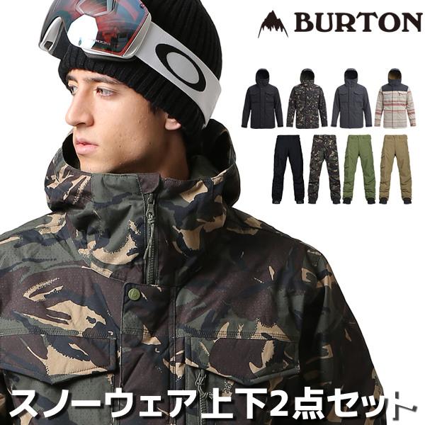 BURTON バートン スノーボードウェア メンズ 2点セット スノーボード ウェア ジャケット パンツ 上下 MB COVERT JK COVERT PT 18-19モデル FF L17