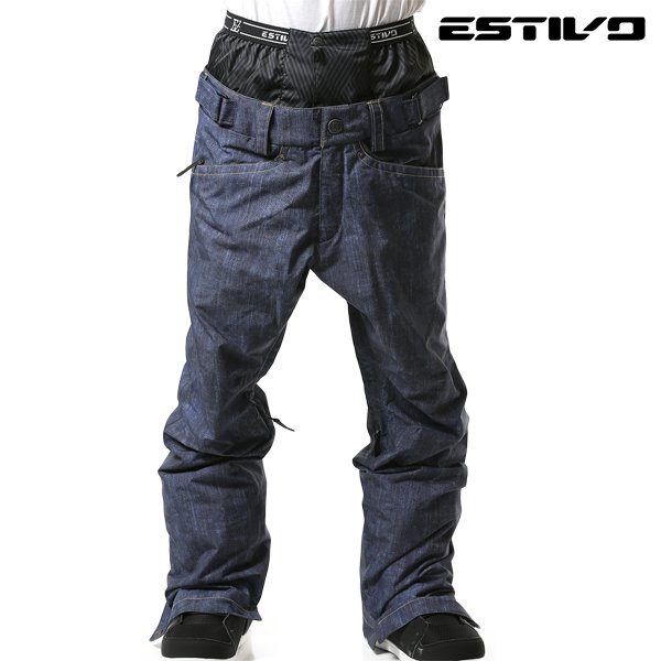 送料無料 スノーボード ウェア パンツ ESTIVO エスティボ EVM3701 EV-BUDDY PNT 18-19モデル メンズ F1 J9