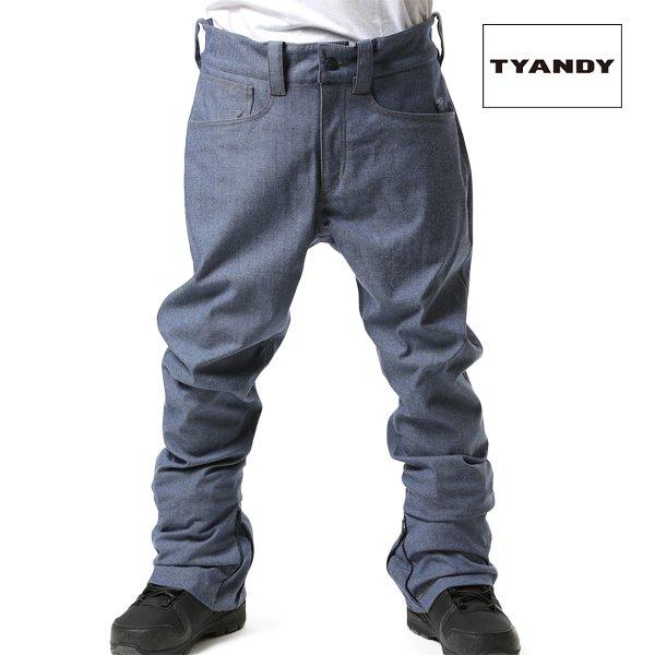 送料無料 スノーボード ウェア パンツ TYANDY ティアンディ TYP91103D BONDED BANANA DENIM 18-19モデル メンズ FX J8