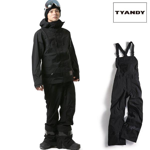 送料無料 スノーボード ウェア ビブパンツ TYANDY ティアンディ TYP91104 3L OVERALL 18-19モデル メンズ FX J6