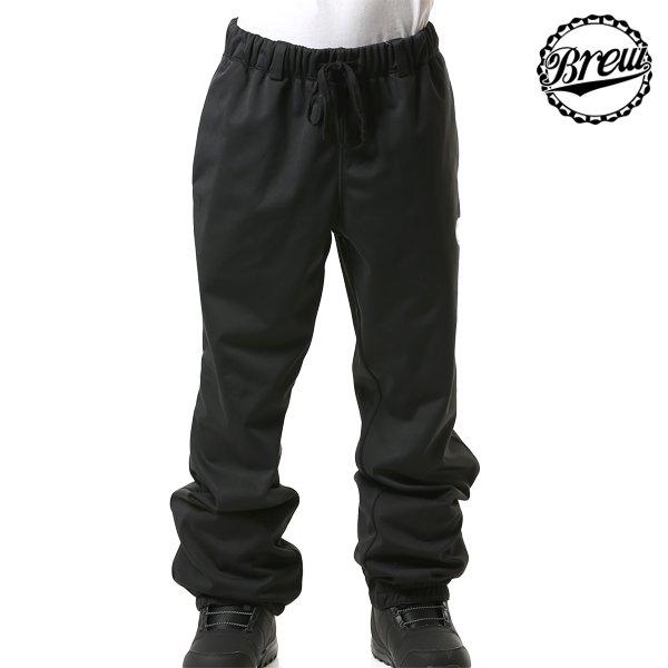 送料無料 スノーボード ウェア パンツ BREW CLOTHES ブリュー クローズ 19BR04002 CROWN PANTS 18-19モデル メンズ インナーウェア FF L1