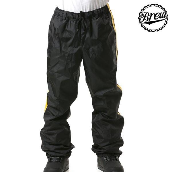 送料無料 スノーボード ウェア パンツ BREW CLOTHES ブリュー クローズ 19BR04003 BEER PANTS 18-19モデル メンズ インナーウェア FF L1