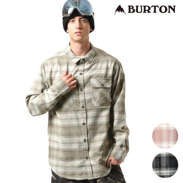 スノーボード ウェア 長袖 シャツ BURTON バートン MB BRIGHTON TECH FLANNEL 18-19モデル メンズ インナーウェア FF K23