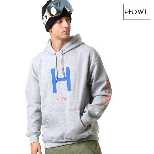 スノーボード インナーウェア パーカー HOWL ハウル H LOGO HOODIE 18-19モデル メンズ FF L20