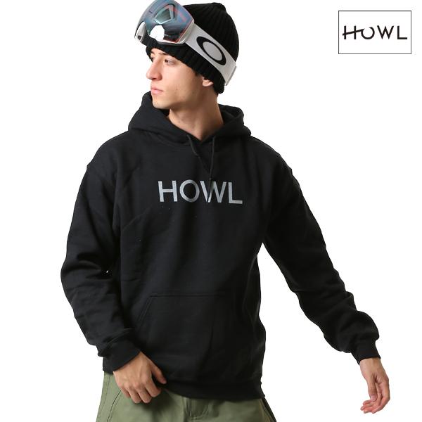スノーボード インナーウェア パーカー HOWL ハウル LOGO HOODIE 18-19モデル メンズ FF L20