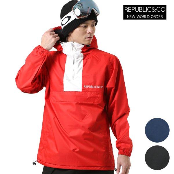 スノーボード インナー ジャケット REPUBLIC リパブリック TRAIL PULLOVER HOODIE 18-19モデル メンズ FF K12
