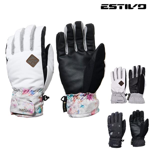 レディース スノーボード グローブ ESTIVO エスティボ EV-WOMENS GORE-TEX GLOVES EVA8920 19-20モデル GX K19