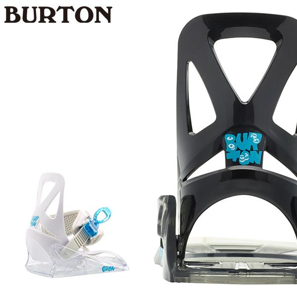 予約販売 11月中旬入荷予定 キッズ ジュニア スノーボード バインディング ビンディング BURTON バートン GROM グロム 19-20モデル GG I13