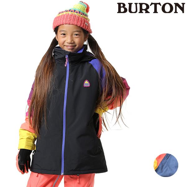 スノーボード ウェア ジャケット BURTON バートン GIRLS HART JK 19-20モデル キッズ ジュニア GG J8 MM