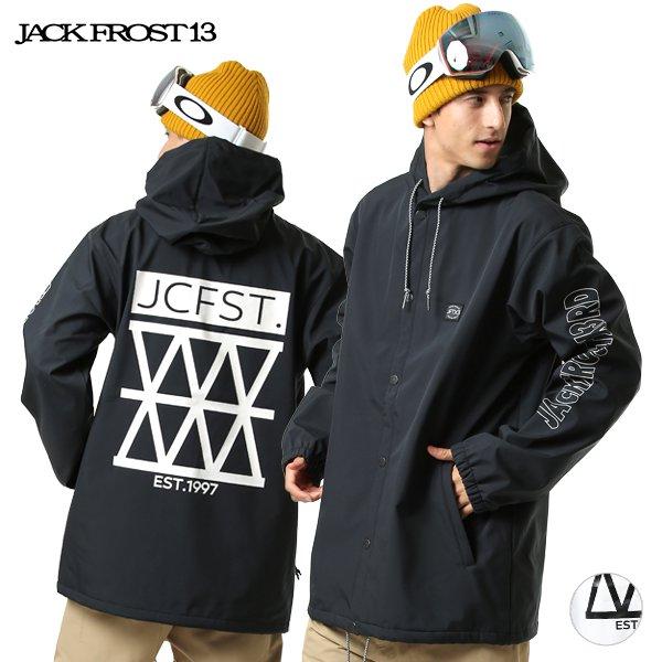 スノーボード ウェア ジャケット JACK FROST13 ジャックフロスト JFJ92707 HOODED COACH JK 19-20モデル メンズ GX I6