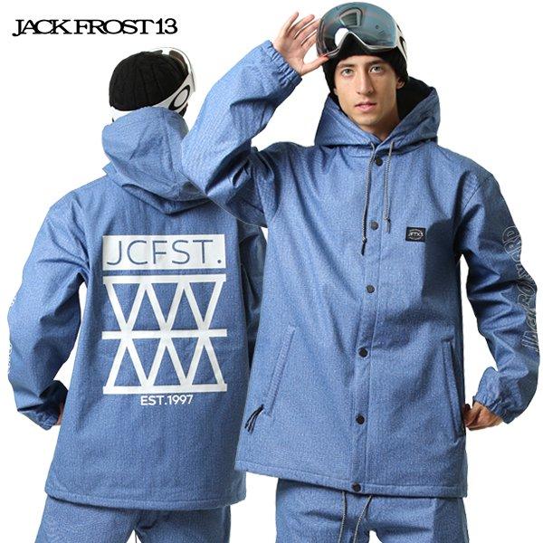 スノーボード ウェア ジャケット JACK FROST13 ジャックフロスト JFJ92707D HOODED COACH JK 19-20モデル メンズ GX I6