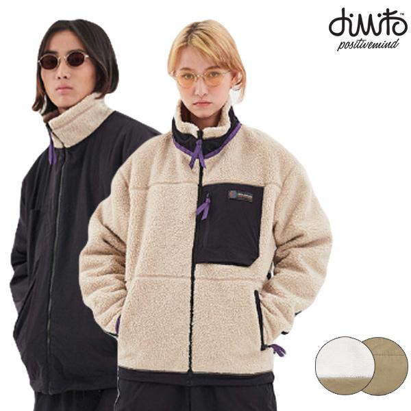 ジャケット DIMITO ディミト RAVINE FLEECE JACKET 19-20モデル リバーシブル メンズ レディース GG L28