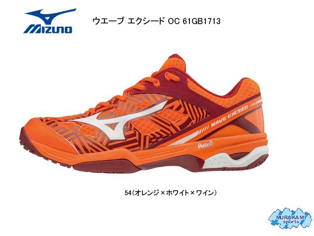ミズノ MIZUNO ウエーブ エクシード オムニ・クレーコート 61GB1713 テニス テニスシューズ