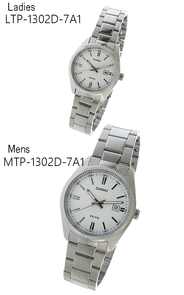 ペアウォッチ カシオ CASIO チープカシオ ユニセックス 腕時計 MTP-1302D-7A1 LTP-1302D-7A1  代引き手数料無料 ギフト プレゼント クリスマス 誕生日 記念日 贈り物 人気 おしゃれ ペア 祝い セール 結婚式 お呼ばれ
