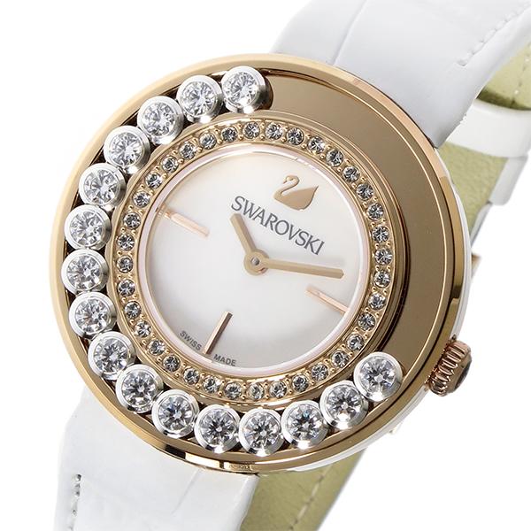 スワロフスキー SWAROVSKI ラブリークリスタルズ クオーツ レディース 腕時計 1187023 ホワイトシェル 代引き 手数料無料 ギフト プレゼント クリスマス 誕生日 記念日 贈り物 人気 おしゃれ ペア 祝い セール 結婚式 お呼ばれ