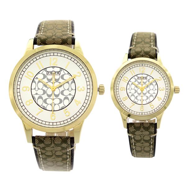 ペアウォッチ コーチ COACH 腕時計 メンズ レディース 14000043 クォーツ シルバー  代引き手数料無料 ギフト プレゼント クリスマス 誕生日 記念日 贈り物 人気 おしゃれ ペア 祝い セール 結婚式 お呼ばれ