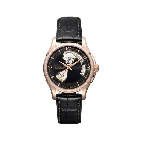 ハミルトン HAMILTON H32575735 自動巻 メンズ腕時計 ジャズマスター オープンハート カーフレザー  送料無料 Jazzmaster Open HeartAuto お取り寄せ品smtb-ms ギフト プレゼント クリスマス 誕生日 記念日 贈り物
