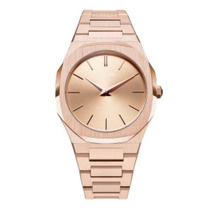 D1 MILANO ディーワンミラノ UTBL02 Ultra Thin Rose Gold Case with Rose Gold Bracelet 腕時計 メンズ レディース 有名人愛用 代引き 手数料無料 ギフト プレゼント クリスマス 誕生日 記念日 贈り物 人気 おしゃれ ペア 祝い セール 結婚式 お呼ばれ