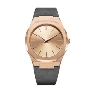 D1 MILANO ディーワンミラノ UTL03 Ultra Thin Rose Gold Case with Milano grey Suede Strap, 腕時計 メンズ レディース 有名人愛用 代引き 手数料無料 ギフト プレゼント クリスマス 誕生日 記念日 贈り物 人気 おしゃれ ペア 祝い セール 結婚式 お呼ばれ