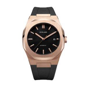 D1 MILANO ディーワンミラノ ATRJ03 P701 Automatic Watch Rose Gold Case with Black Strap ,腕時計 メンズ レディース 有名人愛用 代引き 手数料無料 ギフト プレゼント クリスマス 誕生日 記念日 贈り物 人気 おしゃれ ペア 祝い セール 結婚式 お呼ばれ