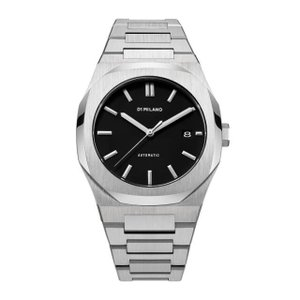 D1 MILANO ディーワンミラノ ATBJ01 P701 Automatic Watch Silver Case with Silver Bracelet,腕時計 メンズ レディース 有名人愛用 き 手数料無料 ギフト プレゼント クリスマス 誕生日 記念日 贈り物 人気 おしゃれ ペア 祝い セール 結婚式 お呼ばれ